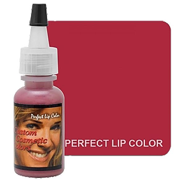 barwnik domakijażu permanentnego ust, idealny kolor ust, malinowy pigment doust