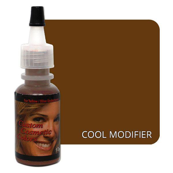 brązowy barwnik doochładzania koloru butelka custom cosmetics color