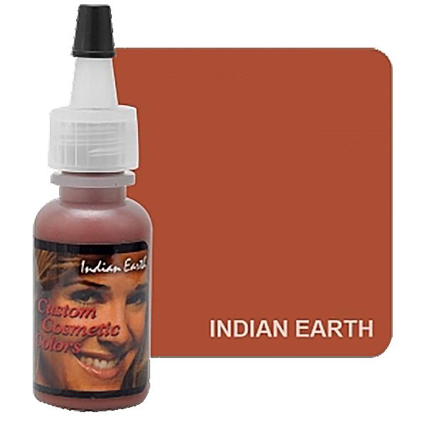 pigment domakijażu ust, brązowy barwnik domakijażu permanentnego wbuteleczce z kobietą