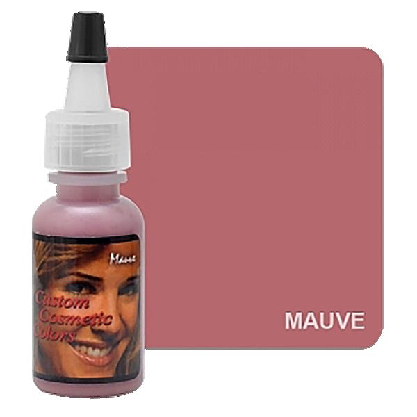 chłodny róż, zimny różowy barwnik domakijażu permanentnego ust wbutelce z twarzą