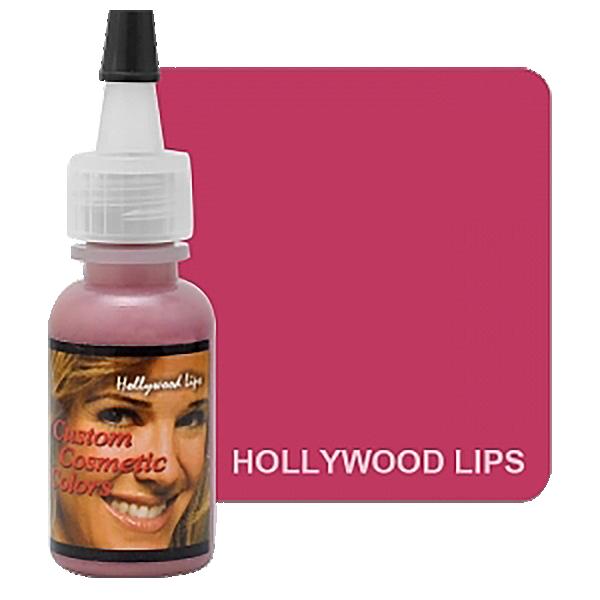 różowy barwnik domakijażu permanentnego ust, różowo-fioletowy pigment doust