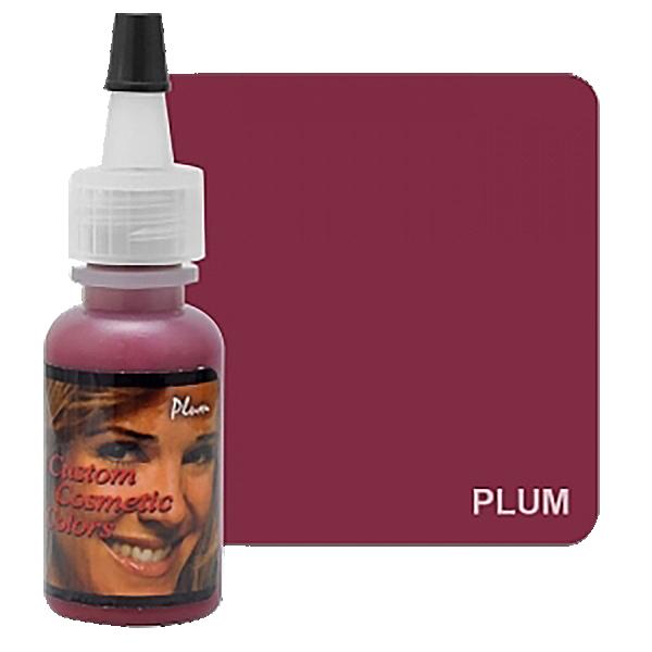 barwnik domakijażu permanentnego ust śliwka, ciemny śliwkowy kolor