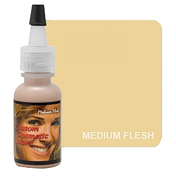 barwnik dokamuflaży makijazu permanentnym, średnio jasny
