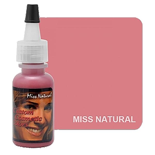 barwnik domakijażu permanentnego ust, pastelowy jasno różowy kolor wbuteleczce