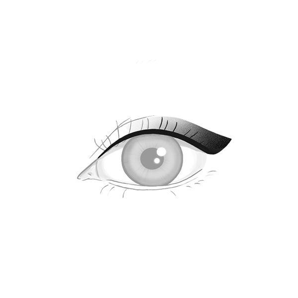 makijaż permanentny oczu, kreska rozcieniowana warszawa, ładne kreski permanentne