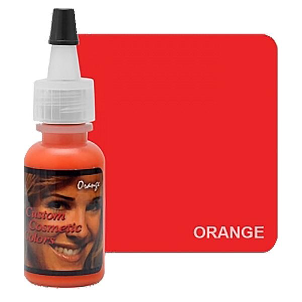 barwnik dokorekty domakijażu permanentnego, pomarańczowy barwnik domieszania