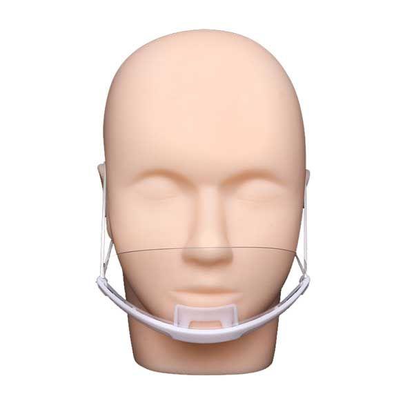 plastikowa maska natwarz jak zakładać