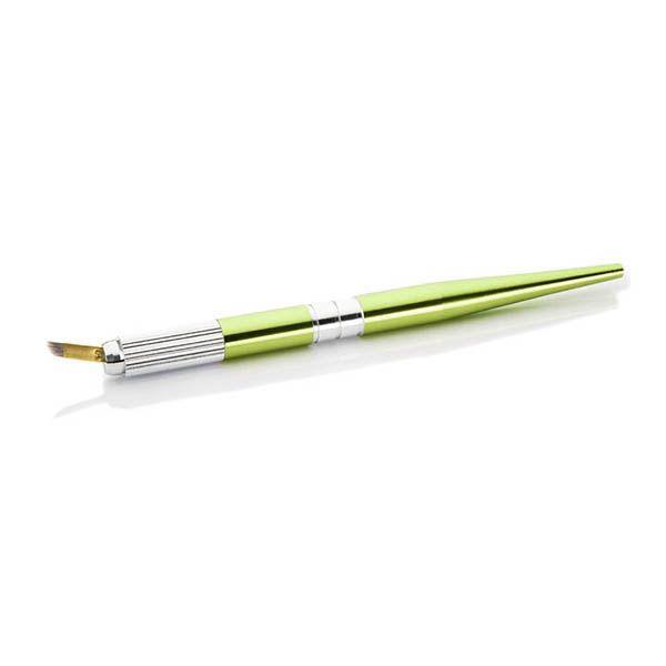 pen domakiajżu permanenntego z igłą, zielony, dobra jakość, ładny