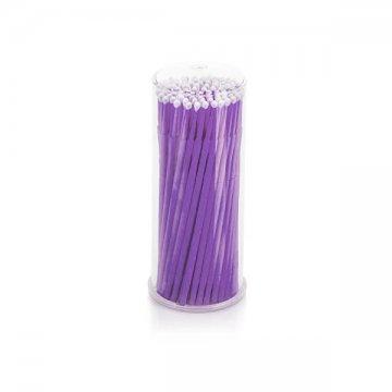 opakowanie fioletowych mikroszczoteczek plastikowe przeźroczyste