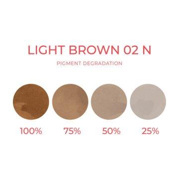 pigment dobrwi neutralny jasnobrązowy