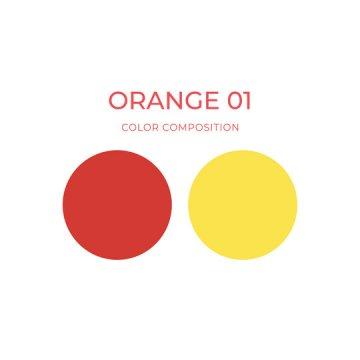 korekta makijażu permanentnego pigment pomarańczowy