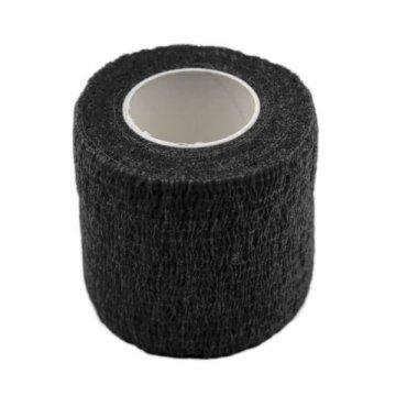 czarny bandaż antypoślizgowy narączkę domakijażu permanentnego
