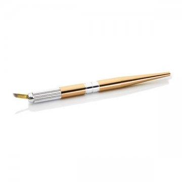 złoty pen z igła domakiajżu permanentnego, bardzo ładny, tani, okazja