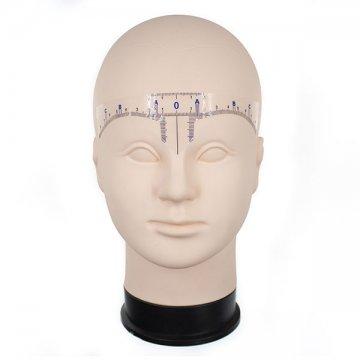 linijka samoprzylepna naczoło domakijażu permanentnego brwi