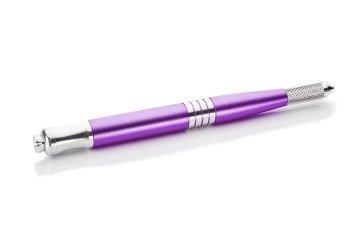 dwustronne piórko fioletowe domicrobladingu, solidne, dobrej jakości iw dobrej cenie