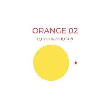pomarańczowy barwnik korekta makijażu permanentnego
