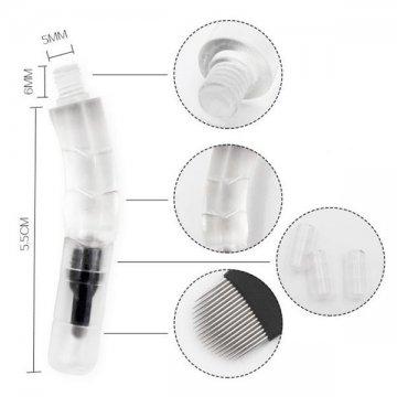 igły z podświetleniem domicrobladingu brwi, wymiary