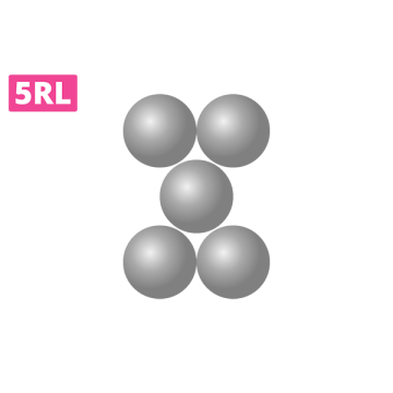 jak wygląda kartridź 5rl, jak układają się igły wmodule 5 round liner