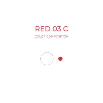 zimna czerwień pigment domakijażu permanentnego ust