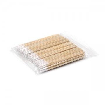drewniane patyczki z woreczku strunowym