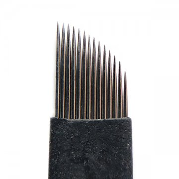 bardzo ostry nożyk 8#14F BLACK domakijażu permanentnego, japońska stal