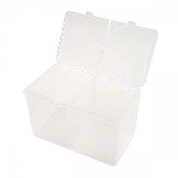 podwójne plastikowe pudełko nawaciki bezpyłowe