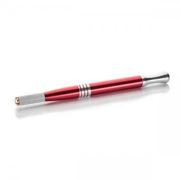 czerwony pen dometody piórkowej, solidne, dobra jakość icena
