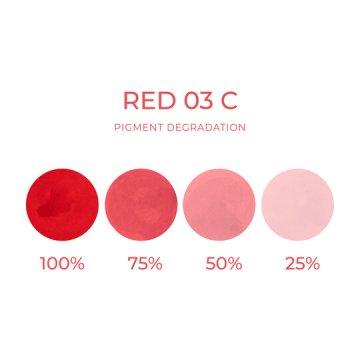 pigment domakijażu permanentnego ust chłodny czerwony