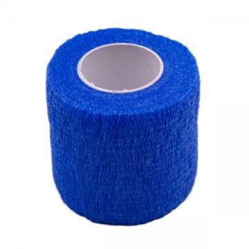 elastyczny bandaż ochronny narączkę dourządzenia makijaż permanentny niebieski