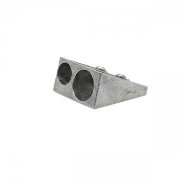 podwójna aluminiowa metalowa srebrna temperówka
