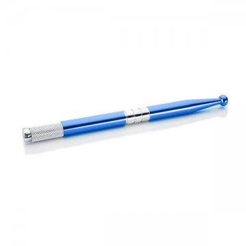 eleganckie, niebieskie piórko domakijażu permanentnego z kulką wdobrej cenie