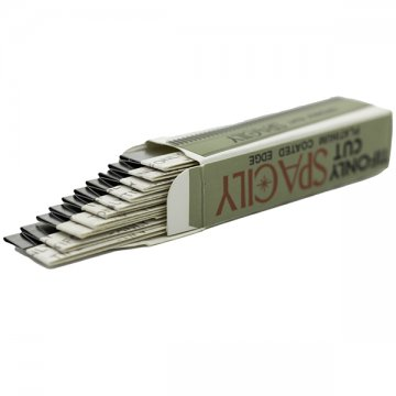 nożyk metalowy otwarte opakowanie