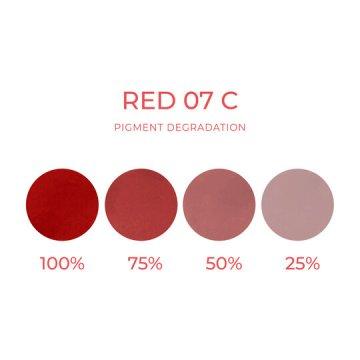 czerwony barwnik doust makijaż permanentny