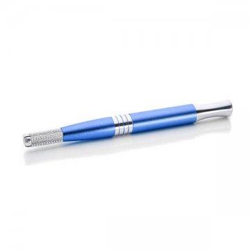 ładny, niebieski pen dometody piórkowej, grube ipraktyczny