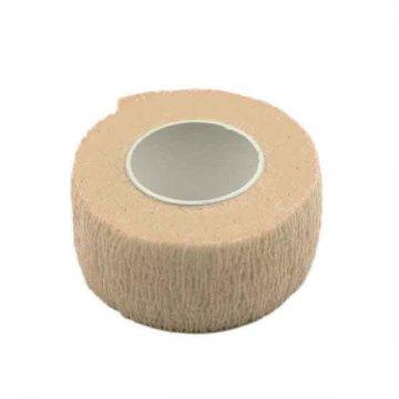 beżowy cielisty bandaż elastyczny ochronny