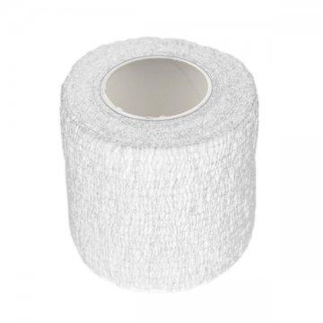 biały elastyczny bandaż ochronny domakijażu permanentnego