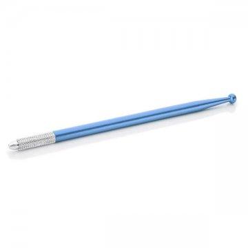 niebieskie piórko docieniowania manualnego z kulką, ładne itanie