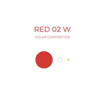 barwnik doust wkolorze ciepłej czerwieni