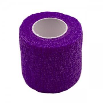ciemny fiolet bandaż elastyczny makijaż permanentny