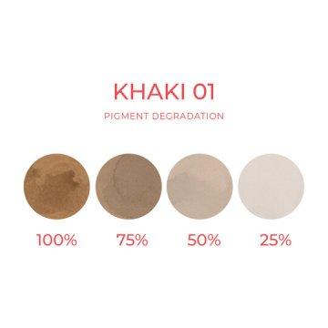 barwnik khaki dokorekty makijażu permanentnego brwi