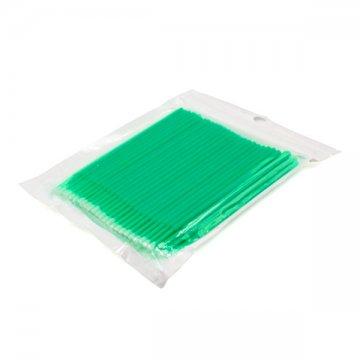 zielone mikroszczoteczki domakijażu permanentnego