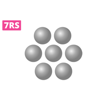okrągły układ igieł wkartridzu z 7 igłami docieniowania shadow domakijażu permanentnego