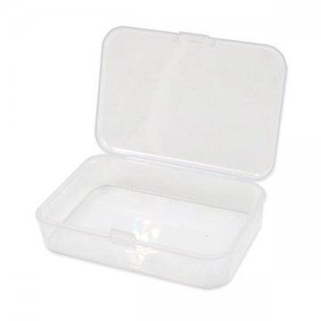 małe plastikowe pudełko naakcesoria